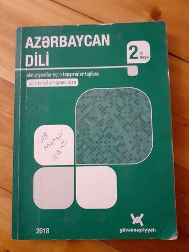 Azerbaycan dili abituriyent ler ucun tapsiriqlar toplusu 2 ci nesr