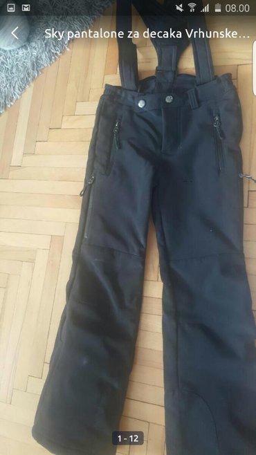 Dečija odeća i obuća | Pozarevac: Ski pantalone za decuKao noveNosili ih nedelju danaSkupo