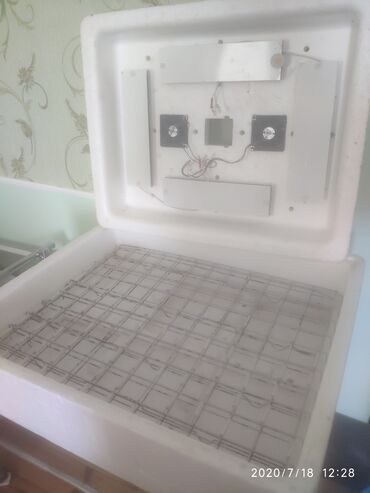 - Azərbaycan: Təmiz Rusiya Zavod istehsalı 120 ededlik inkubator. Tam avtomatik