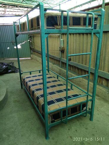 Продаю кровать 2-х ярусная разборная, размер 2*0.9м., матрасы 1.85*0