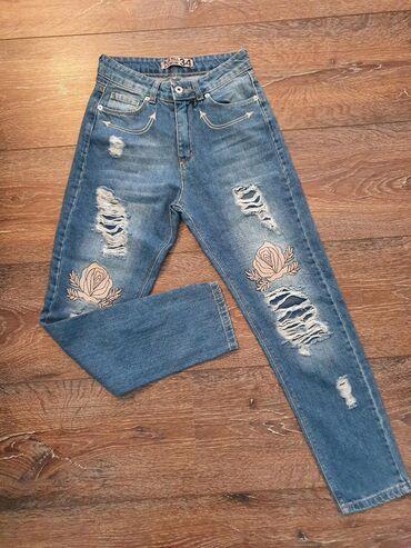 Nove denim farmerice/pantalone. Broj 34 ili Xs,S. Bas lepo stoje