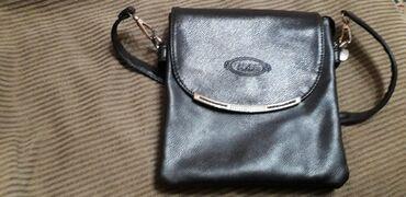 жен-сумка в Кыргызстан: Коричневая Сумка женская сост отл. Бежевая на фото видно сост.каждый