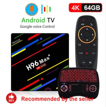 H96 MAX plus + Smart tv box Android 8.1 4GB RAM/64GB ROM + ETL - Belgrade