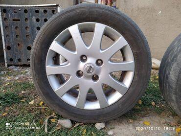 4 114 3 диски в Кыргызстан: Продаю диски! От Ниссан Альмера. Оригинал. R16/ 4×114.3С ШИНАМИ ИЛИ