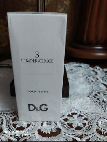 духи d g imperatrice в Кыргызстан: Продаю туалетную воду новая от Dolce gabbana imperatrice number three