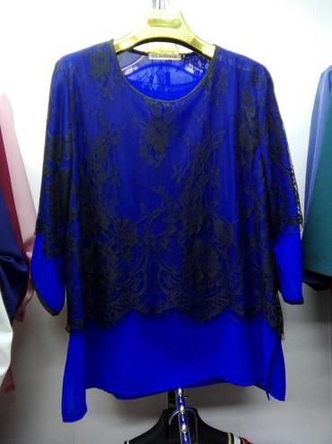 нарядные блузки в Кыргызстан: Блузки красивые нарядные с кружевом ои 48 по 58 по 950 сом