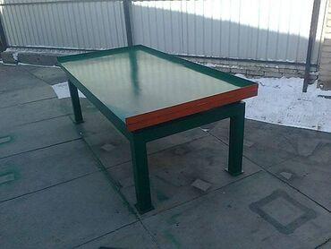 Оборудование для бизнеса - Кыргызстан: Продаю вибростол размер 1 м на 2 м без вибратора для изготовления