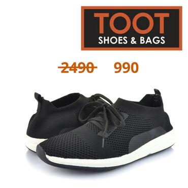 43-размер в Кыргызстан: Toot shoes&bags Кроссовки Артикул: 084-JL899-1(1) Детали Цвет Чёр