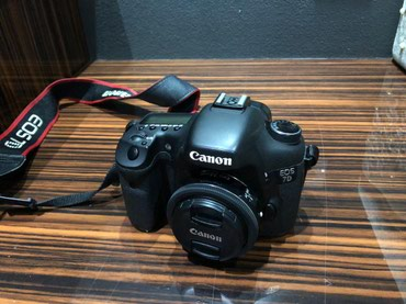 Продаю Фотоапарат Canon EOS 7D в Бишкек