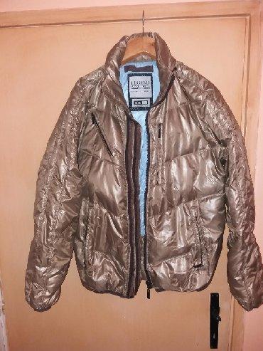 Muška odeća | Smederevska Palanka: Muska LEGEND jakna original,jako topla,sa duplim rajsfeslusom,bronzano