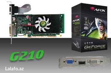 A-Fox 1 Gb Nvidia Geforce 210 64 Bit  Video card yenidi. acilmayib в Баку