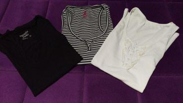 I tri majice - Srbija: Majice, velicina M. Tri, za 300 din