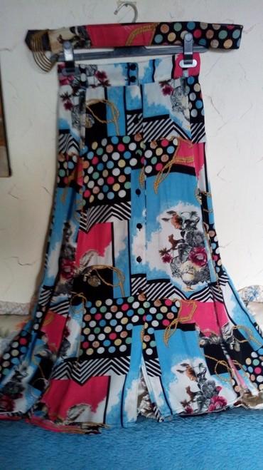 Suknja nova sa kaisem...obim struka...76 i manje zbog lastiha - Kraljevo