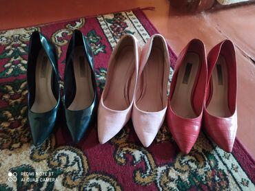 Личные вещи - Орто-Сай: Туфли от жими чу 3 шт отдаю за 1000с