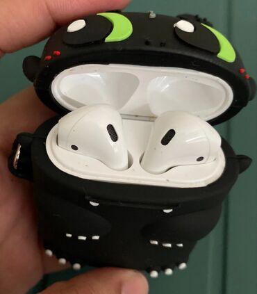 лайтнинг наушники в Кыргызстан: Чехолы для наушников AirPods с 3D принтами Силиконовый чехол для
