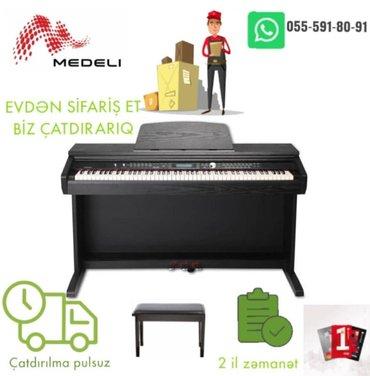 piano dersleri - Azərbaycan: Medeli elektro piano. 10% endirimler davam edir.Aletlere resmi