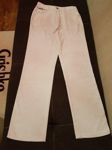 мужские брюки 31 размера,молочного цвета в Лебединовка
