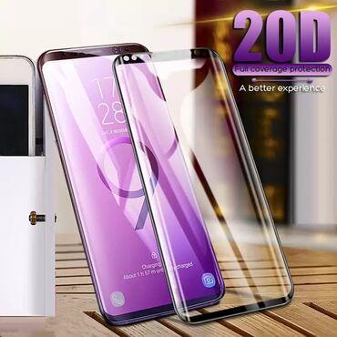 Samsung x500 - Srbija: Samsung Galaxy S8 20D full glue i 7D zastitno staklo,kompletna zastita