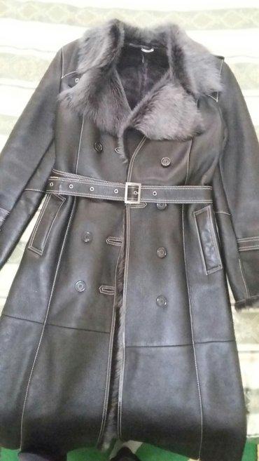 Женские пальто в Кыргызстан: Продаю дубленку б/у в отличном состояние. Носили только на выход