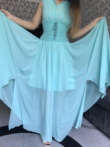 Платье почти новое !!!!42-44 размер !!!на выпускной одевала и все . в Бишкек