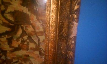 Vilerov goblen,rucno razbaren,dimenzije 35/75cm bez rama - Vladicin Han