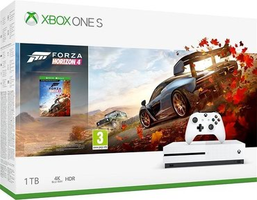 Bakı şəhərində Xbox one s 1Tb Forza original tam yenidi bagli qutuda