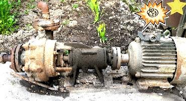 Продаю насос.. двигатель асинхронный в Бишкек