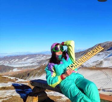 лыжный костюм бишкек цены in Кыргызстан | ВЕРХНЯЯ ОДЕЖДА: Продаю шикарный комбез (лыжный костюм) в ед.экземпляре в Бишкеке. РАЗМ