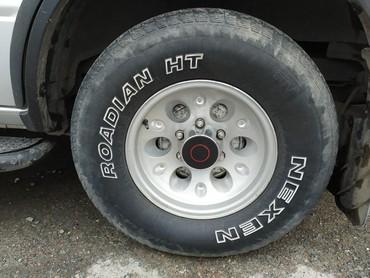 решетка радиатора опель инсигния в Кыргызстан: Диски r15 с шинами на внедорожник. стоят на Опель фронтера. или обмен