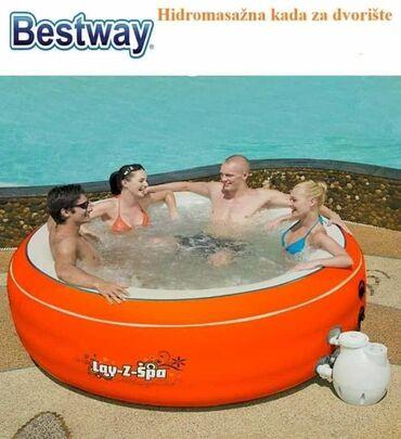 Pumpa za vodu - Srbija: SPA EASY masažni bazen 206 x 71 cm Tehničke karakteristike Dim.: 206 x