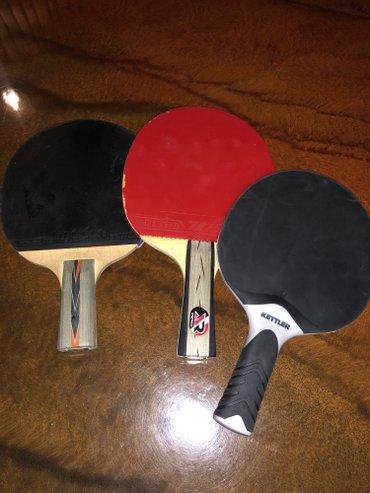 Bakı şəhərində 3 ulduz tennis raketkaları heresi 15 manatdır