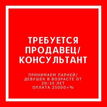 Работа - Кыргызстан: Продавец-консультант. С опытом. 6/1