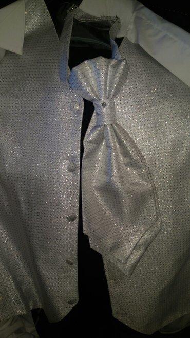 костюм:брюки,рубашка,желетка,пиджак, галстук. в Бишкек