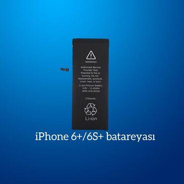 """Enerjiyükləyicilər - Azərbaycan: """"Apple iPhone 6s+"""" batareyası"""