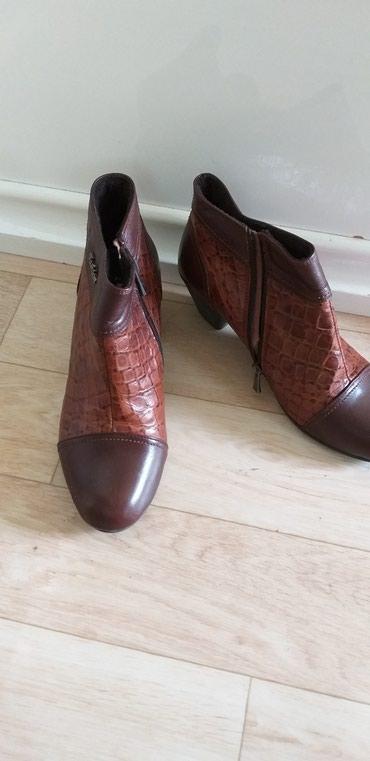 Демисезонные кожаная обувь хорошее качество купили дорого в Токмак