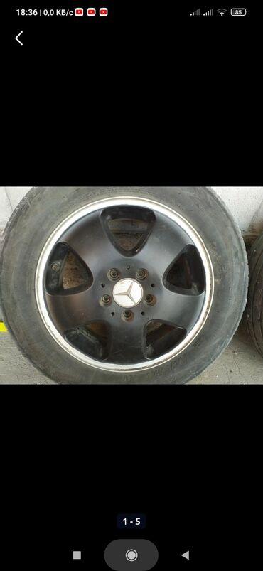 шины 21555 r16 в Кыргызстан: Продаю дискиот мерса r16 оригинальные маде ин Германия от А класса