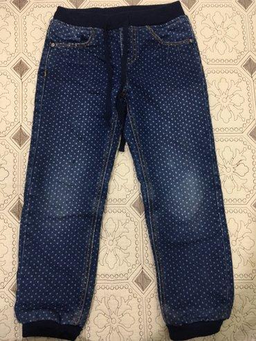 Теплые джинсы на девочку,почти б/у,состояние 👍👍👍 в Бишкек