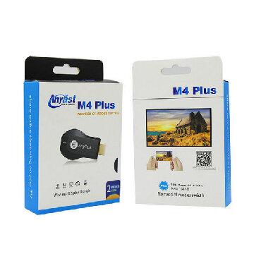 аудио ресиверы в Кыргызстан: Цифровой ресивер Anycast Dongle WiFi TV 1080p Airplay Display DLNA
