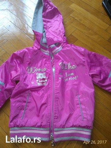 Lagana jaknica sa 2 lica, vel.6, malo nosena - Beograd