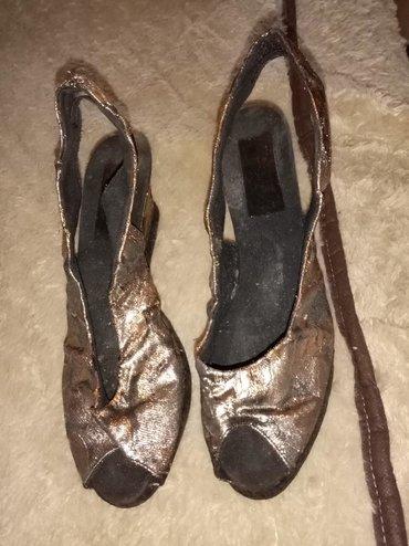 Prelepe sandale broj 40 malo nosene