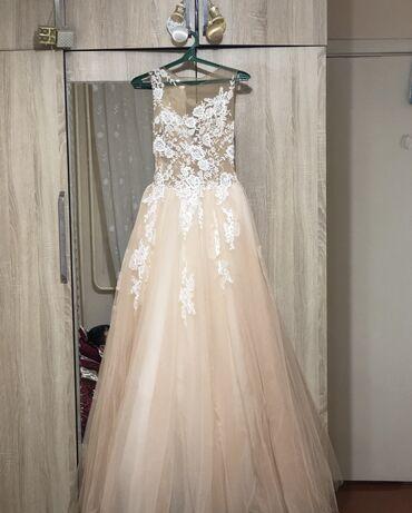 свадебные платья хиджаб в Кыргызстан: Продаётся свадебное платье, возможет прокат. В комплекте две фаты, укр