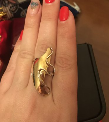 bentley mulsanne 6 75 v8 - Azərbaycan: Золотое кольцо 750 проба 6.6 грамм