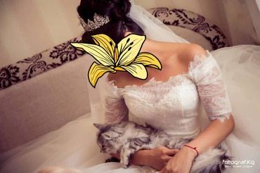 Продаю платье свадебное. в подарок корона и серьги