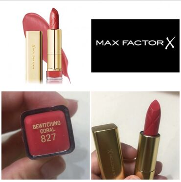 Maxi cosi - Srbija: MaXfactorX 827 Bewitching Coral ruž za usne.Nov i originalan.Pitajte