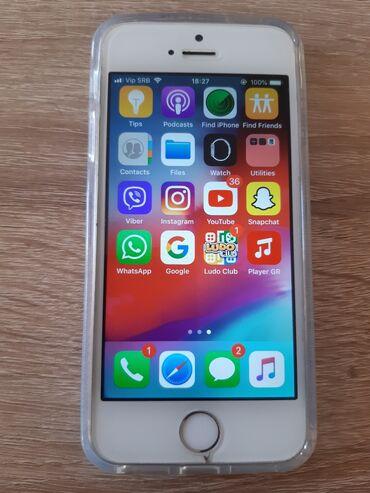 Mobilni telefoni - Beograd: IPhone 5s Silver