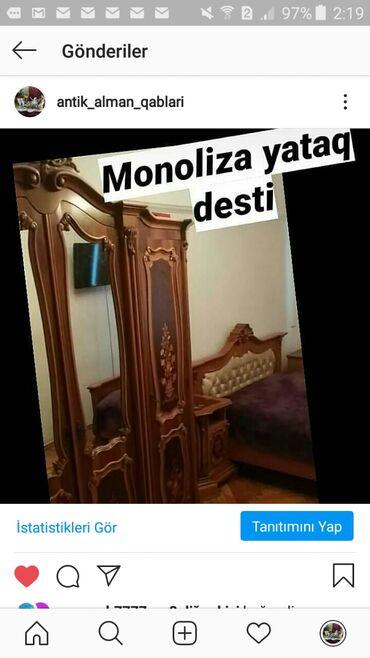 Satilir Ruminyanin yataq desti.təcili