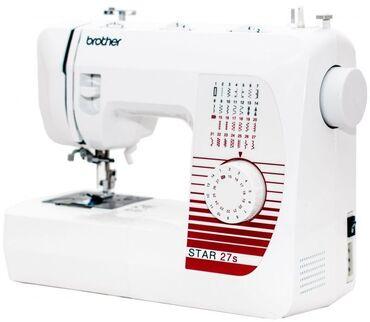 Швейная машина brother star-27sхарактеристики, тип управления