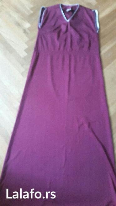 Haljina-ara-univerzalan-broj - Srbija: Haljina bordo boje,broj 40