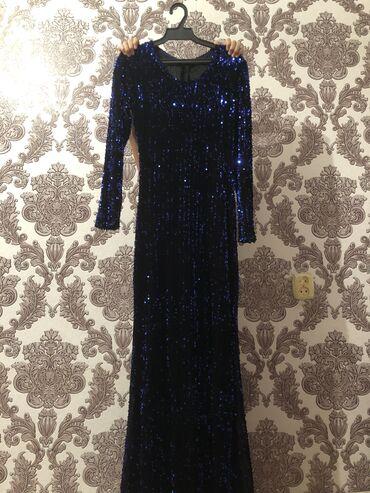 """вечернее платье синий цвет в Кыргызстан: Продаю шикарное вечернее платье от «vonama """" размер с-м,одета один раз"""