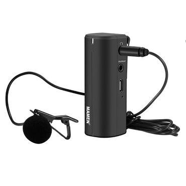 Беспроводной петличный микрофон Mamen Wmic 5G Бишкек  Характеристики